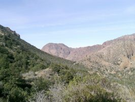 Mountain Valley - Big bend, TX by my-dog-corky