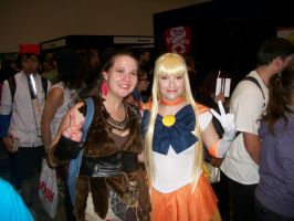 Amazon and Sailor Venus by carrie-lou