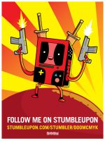 Deadpool x BMO by DoomCMYK