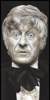 Doctor Who  -  The 3rd Doctor by caldwellart