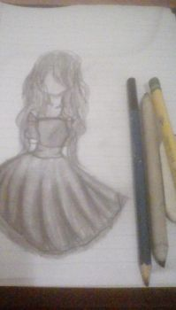 Another dress sketch by Rinoharra