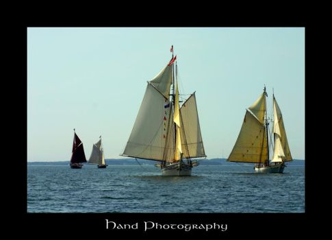 Independence Day Schooner Race by handphotography