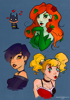 Princesses of Crime by KinkyAzianKitty