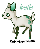 Ivy the Deer by Ruhianna