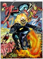 ghost rider - west coast avengers by namorsubmariner