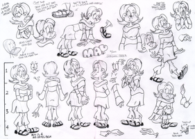 May model sheet by Granitoons