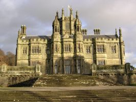 Manor house in Wales by Xylaphonic