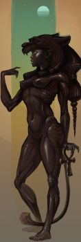 Sekhmet by Sceith-A