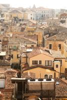Venice rooftops by andthecowsgobaa