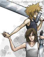 Cloud x Leon by Momo-Deary