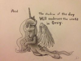 Luna is the Shadow of the Day by theoddlydifferentone