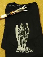 Weeping Angel T-shirt. . .Don't Blink by Tokyo-Trends