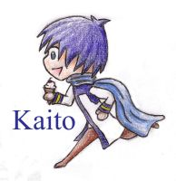 Kaito and his Ice Cream -Smoooch- by Dragongirl9888