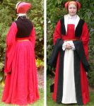 Linen Cleves gown by glittersweet