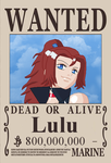 Lulu's Wanted Poster by AzamiYamada