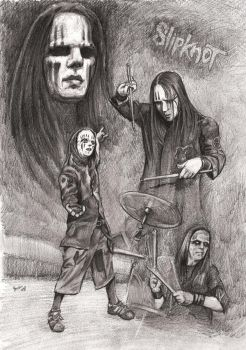 Joey Jordison - Slipknot by Alleycatsgarden