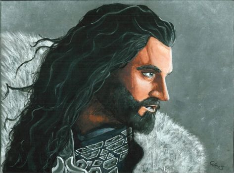 The Hobbit - Thorin by celientje125