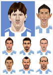 2014 FIFA World Cup players2 by A-BB