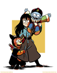 The Pilaf Gang by CrackpotComics