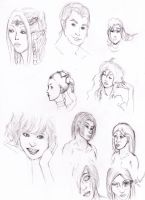 Copied Faces by ErnCer