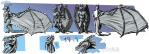 Silvax Reference Sheet by Eevachu