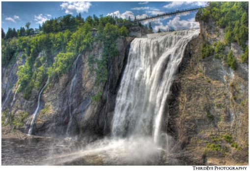 Montmorency Falls, Quebec City by The-ThirdEye