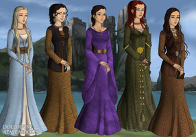 Lasses of the highlands by taytay20903040