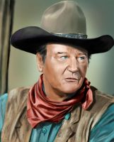 John Wayne by thesadpencil