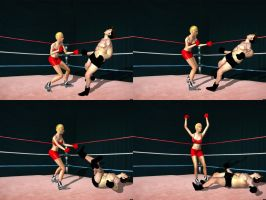 Charlene Tison Vs Bruno Young 03-tile by andypedro