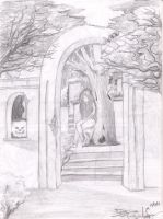 A traves del arco by exoRoxe
