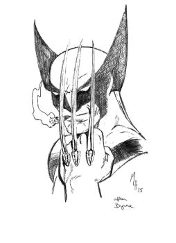 Wolverine by mlh70