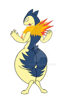 Typhlosion by GB-of-BS
