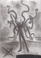Slenderman by BenRusk