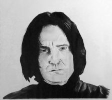 Snape by RoseRain-92