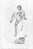 Catwoman Sketches page 6 by artybel
