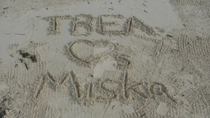 Writings in the Sand by ilovemybishies87