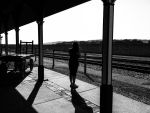 Waiting for a train. by simpspin