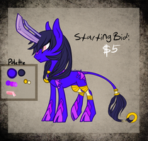 .:MLP: Blade-horn Kirin Auction (OVER):. by Goddess-of-BUTTSECKS
