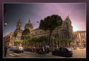 The Cathedral of Catania by rhipster