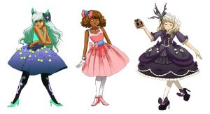Dresses by It-is-a-circle