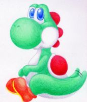 Yoshi by Squashbee
