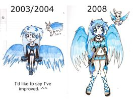 Compare: Ice Queen by rabbitgirl316