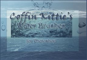 Water Brushes for Photoshop by coffinkittie