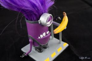 [Garage kit painting #03] Evil Minion statue - 013 by DasArt