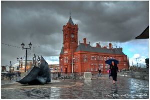 HDR The Pierhead Building by Rovanite
