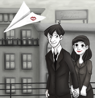 Paperman by mellocat