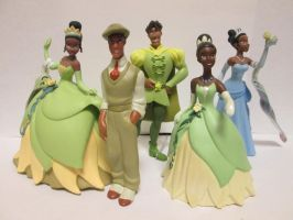 Princess and the Frog PVC by thetrappedartist