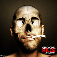 Smoking kills    slowly by mprox by brothersnothers