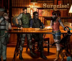 Resident Evil : April Fools' Day by Captain-AlbertWesker