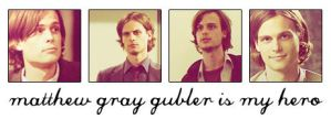 Matthew Gray Gubler is my hero by everpresentpast